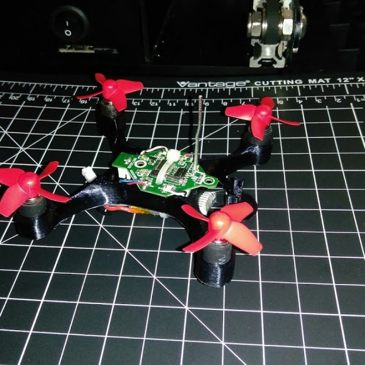 Picture of print of MK XIII Micro Quad This print has been uploaded by Max Curtis Hauxwell