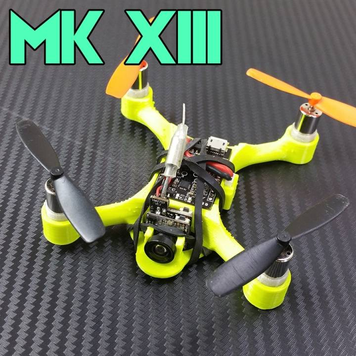 3D Printable MK XIII Micro Quad by NeatherBot
