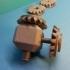 Tête Avec 4 Pignons Coniques - Bevel Gear image