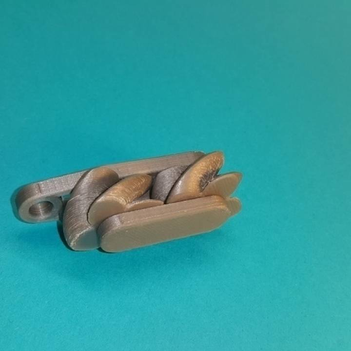 Mini Keychain Gears Paradoxical