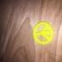 Peace Sign Necklace Pendant - Lost PLA form image