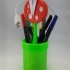 Mario piranha plant pen holder / pot image