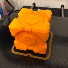 Picture of print of Companion Cube (Portal) This print has been uploaded by Александр Мардынский