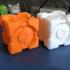 Companion Cube (Portal) print image