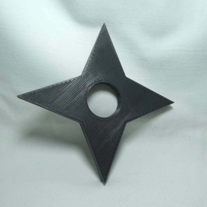 3D Printable Ninja Star By Rees