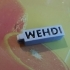 Porte clefs prénom MEHDI image