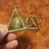 Tétraèdre Avec Captive Sphère - Tetrahedron With Captive Sphere image