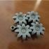 Engrenage Fleurs - Flower gear image