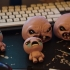 """monstro from """"the binding of Isaac"""" game print image"""