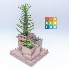 Mini Eastern villas planter