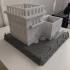 Mini Eastern villas planter print image