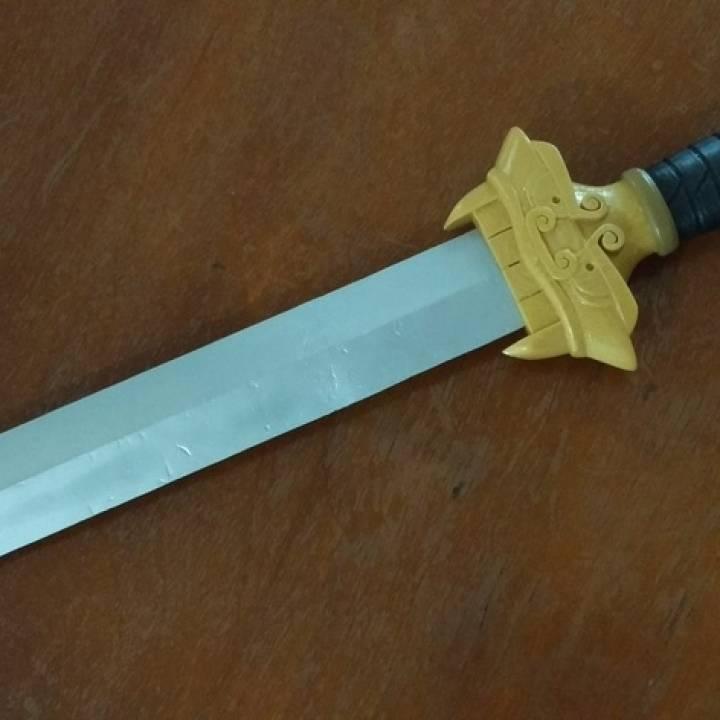 Mulan's Sword