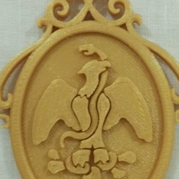 Medalla para el traje típico de San Melchor Betaza