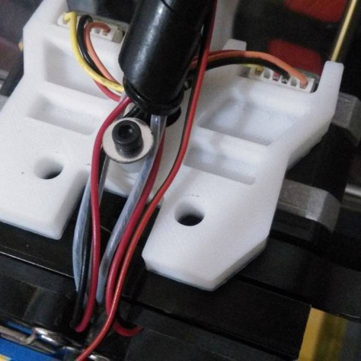 Wanhao Duplicator 4X - Top cover plate for MK9 extruder