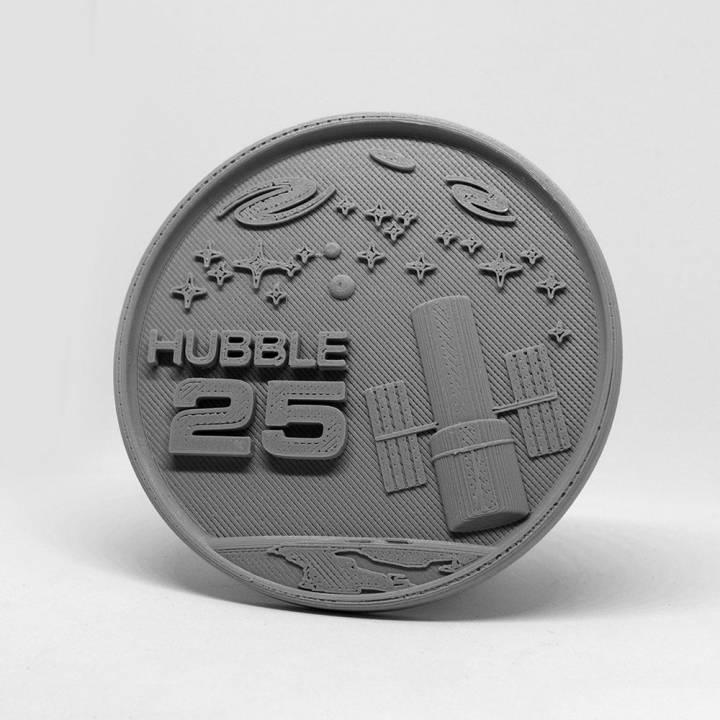 Hubble Space Telescope 25th Anniversary Medallion