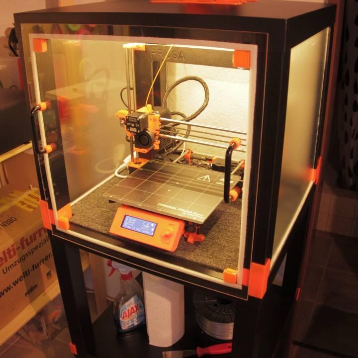 3D Printable Lack Table Enclosure By Raphael Schaaf