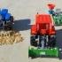 OpenRC Tractor rice rake image
