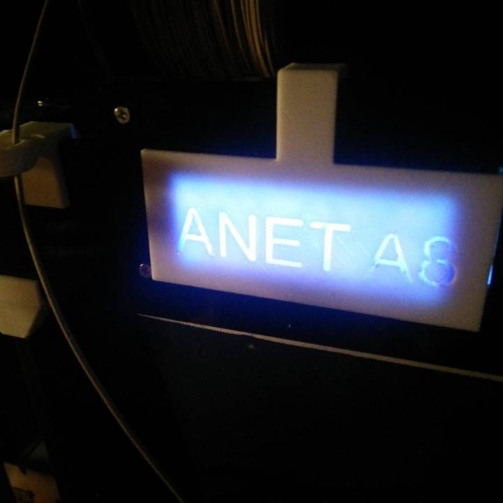 Anet A8 LCD Cover