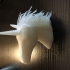 Hairy Unicorn (single and dual extrusion) print image