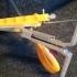 Scissors holder for Lansky-type knife sharpening system image