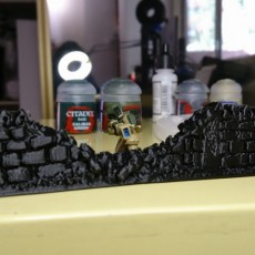 Picture of print of 28mm Or 15mm Wargame Wall
