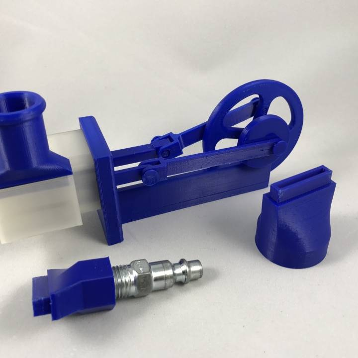 Single Cylinder Air Engine