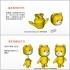 3DP Cute animal family image
