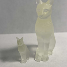 Picture of print of Animals for Sarcophagus Decoration - Cat 2