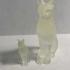 Animals for Sarcophagus Decoration - Cat 2 print image