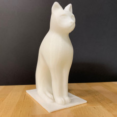 Picture of print of Animals for Sarcophagus Decoration - Cat