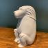 Animals for Sarcophagus Decoration - Monkey 2 print image