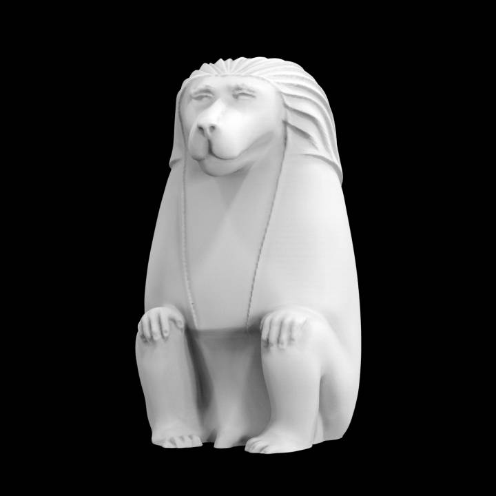 Animals for Sarcophagus Decoration - Monkey 2