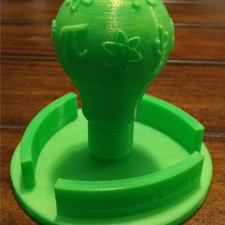 International Women's Day STEM Light Bulb