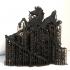 Guan Yu Equestrian Statue print image