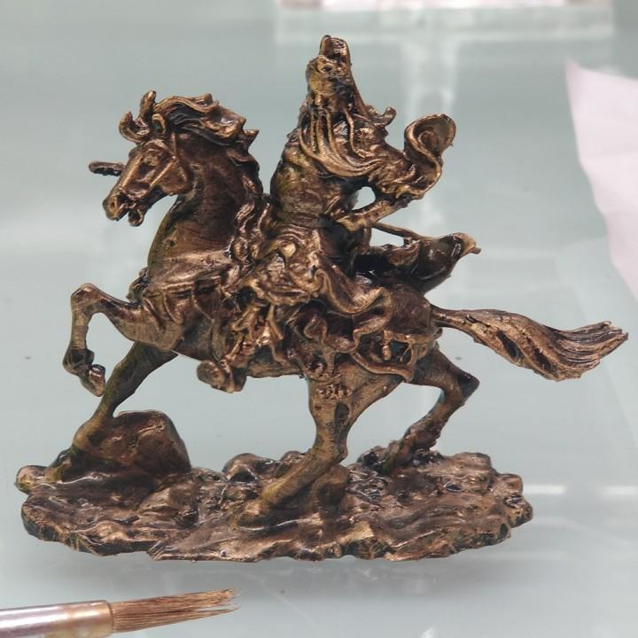 Guan Yu Equestrian Statue