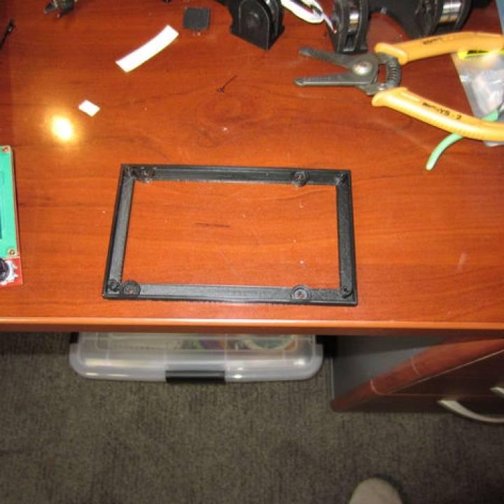 3D Printer MKS Base Controller Mount adapter to MKS Gen Mount