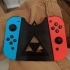 Zelda inspired Nintendo switch joycon holder image