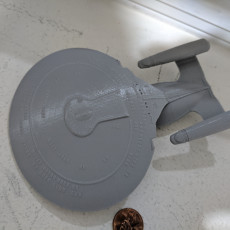 Picture of print of Star Trek USS Enterprise Ultimate Collection