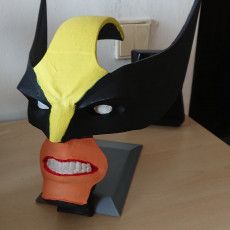 Picture of print of Wolverine Headphone Stand