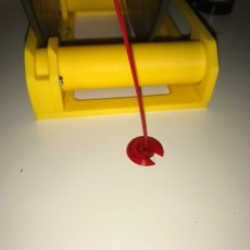 Ikea Lack filament guide passthrough