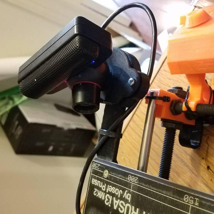 PS3 Eye Cam printbed mount