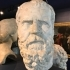 Roman marble head of Socrates image