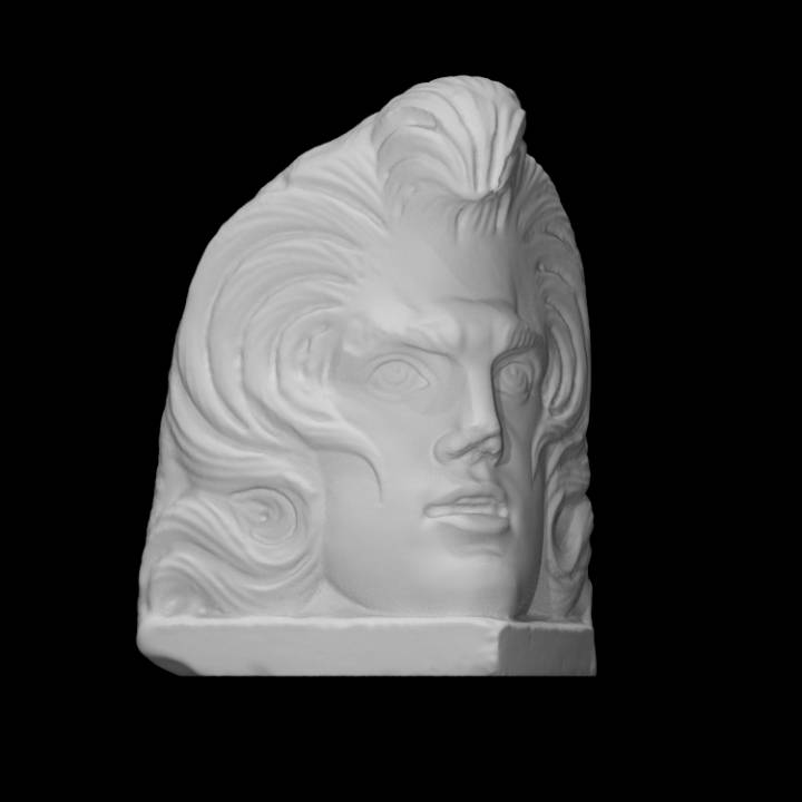 Sarcophagus Corner Head