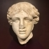 Roman marble head of Apollo image