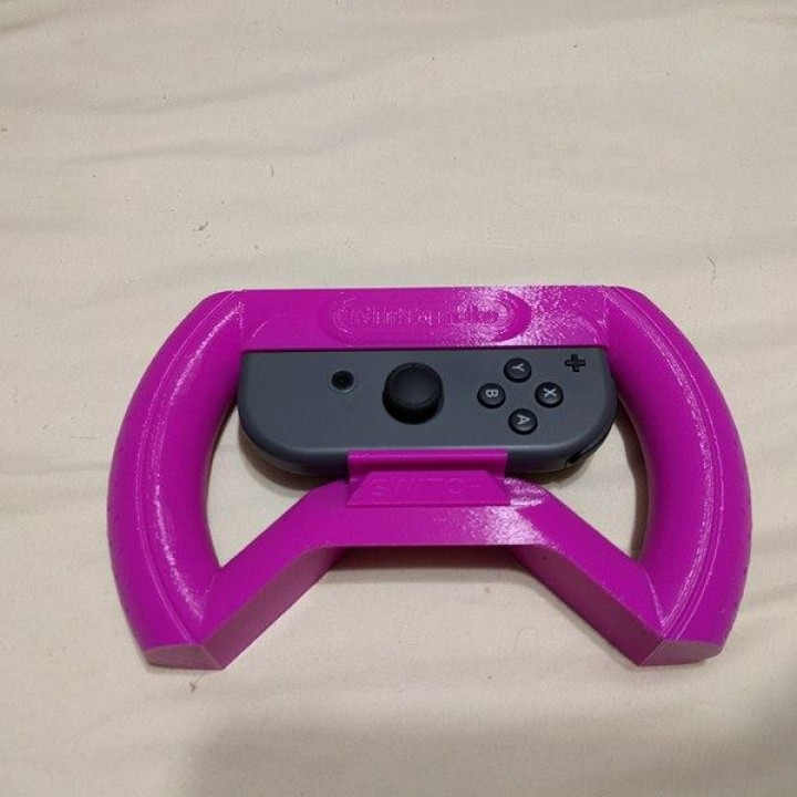 Picture of print of Nintendo Switch Joy-Con Wheel Pro Dieser Druck wurde hochgeladen von William Neal