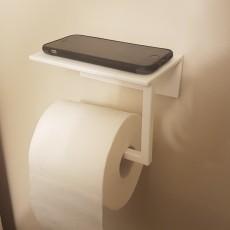 Toilet Paper Phone Holder