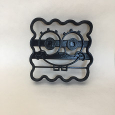 Picture of print of Sponge Bob Square Pants Cookie Cutter
