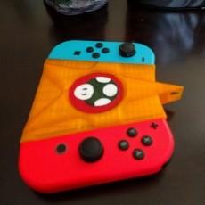 Nintendo Switch ergonomic controller mushroom and star