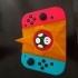 Nintendo Switch ergonomic controller mushroom and star image