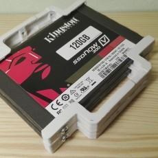 Adaptador SSD 2,5  a 3,5  para 2 discos